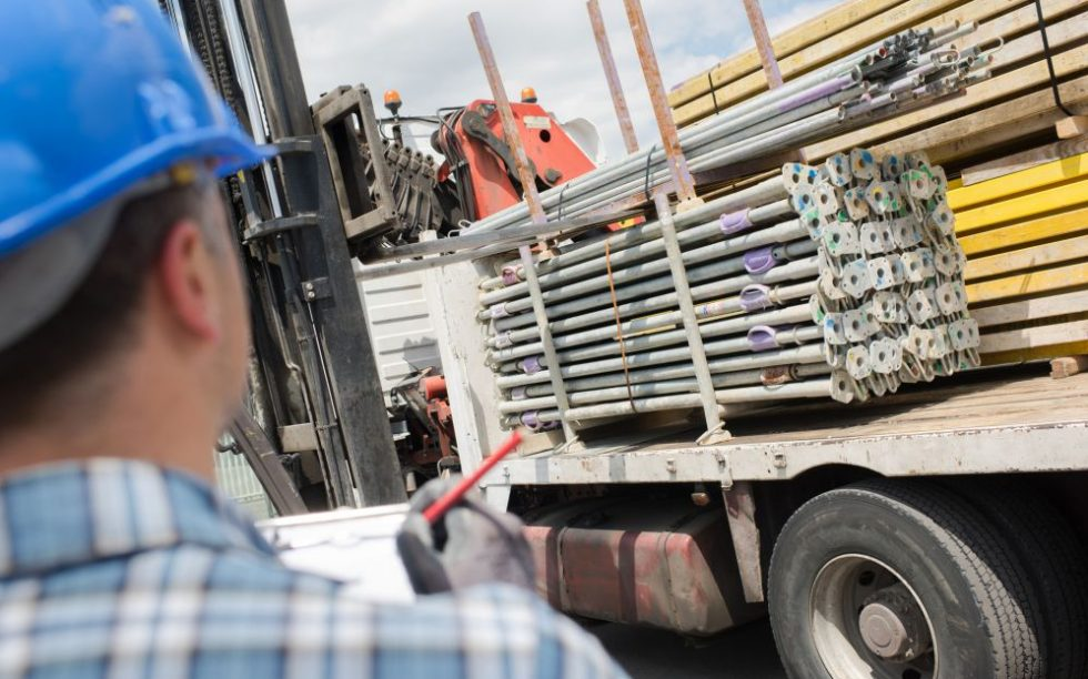 logística de entrega de mercadorias
