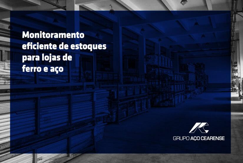 [E-book] Monitoramento Eficiente de Estoques para Lojas de Ferro e Aço