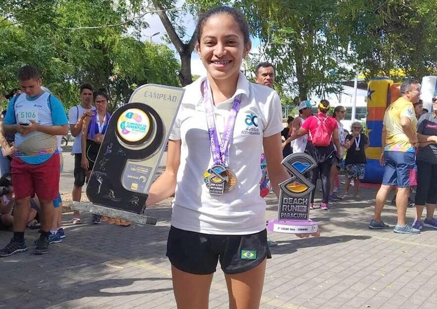 atleta Lisandra Dantas
