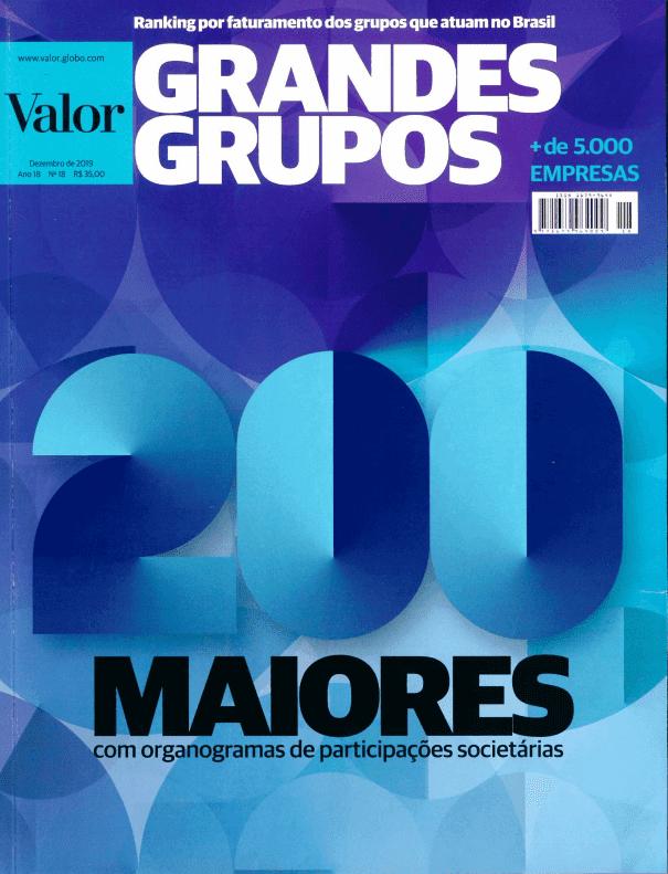 capa da revista valores
