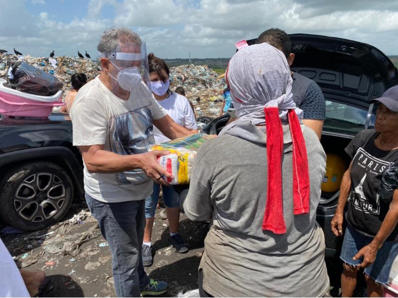 Campanha do Instituto Aço Cearense arrecada mais de 62 toneladas de alimentos para famílias carentes